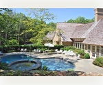 AMAGANSETT NORTH FIVE BEDROOM TUDOR WITH HEATED POOL